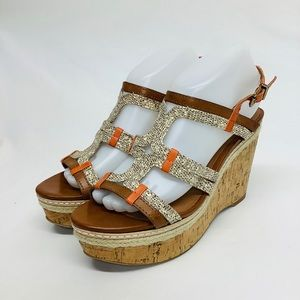 Lucky Brand NEW Platform Wedges Sandals size 9